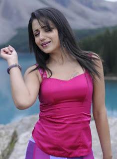 Tamil Actress Trisha Spicy Stills Red Dress Pics