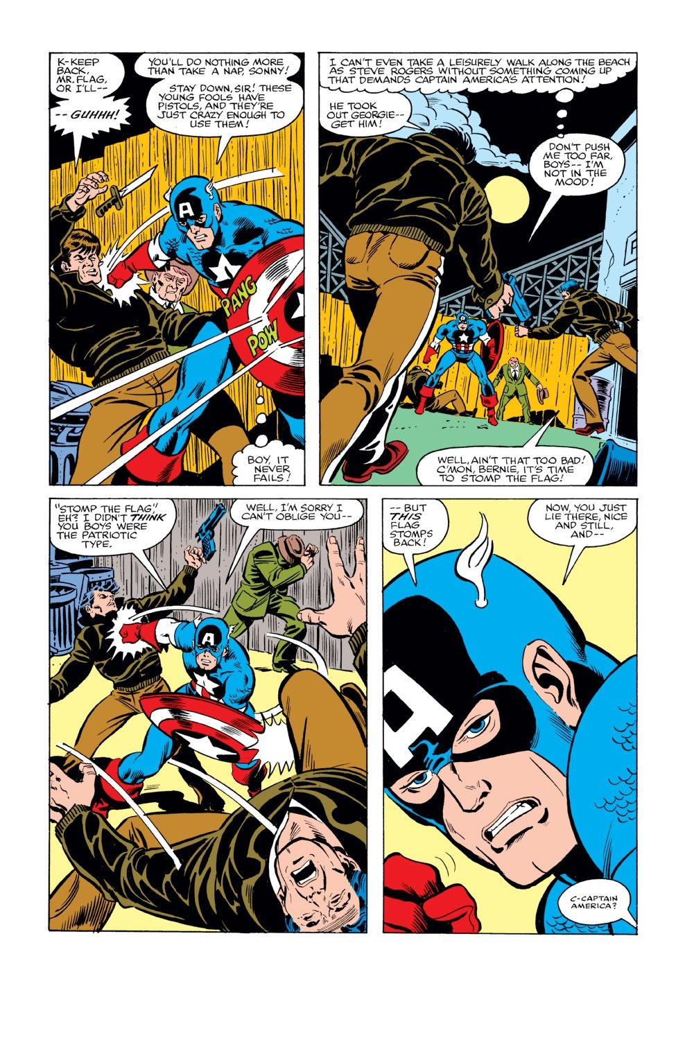 Captain America (1968) Issue #240 #155 - English 3