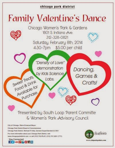 South Loop Connection Family Valentine 39 S Day Dance At Chicago Women 39 S Park Gardens February 8