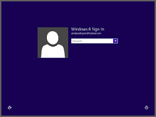 sign in into win 8