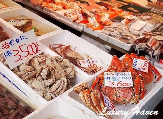 tsukiji fish market tokyo seafood