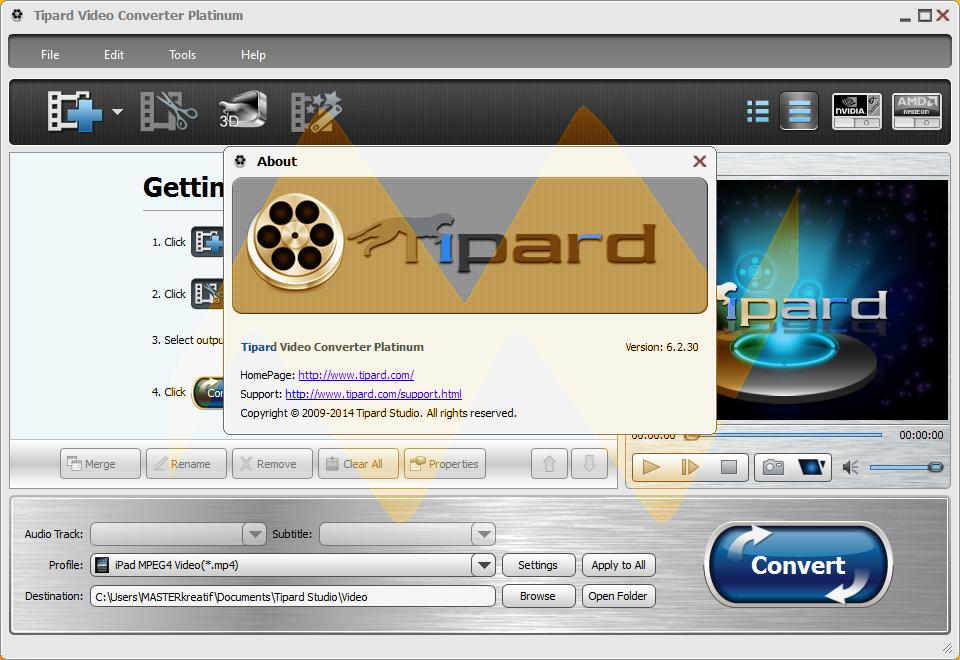 Tipard Video Converter Platinum 6.2.30