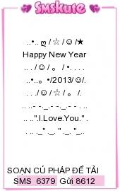 tin-nhan-xep-hinh-chuc-tet-2013-dep