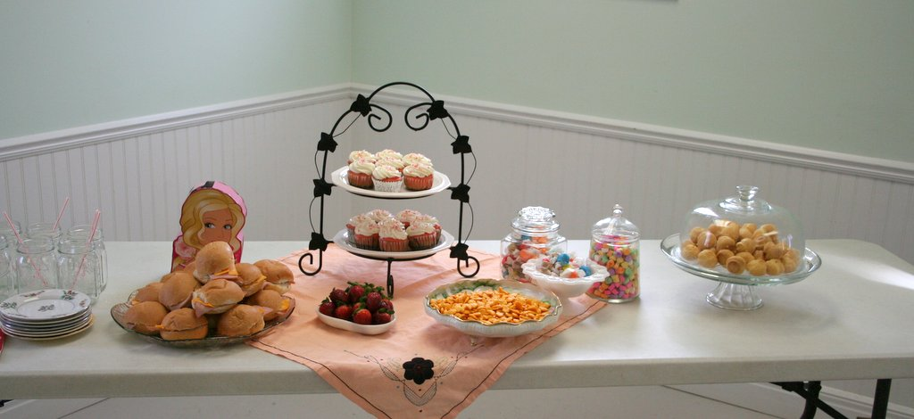 Our Country Road: Beautiful Barbie Tea Party {MommyParties ...