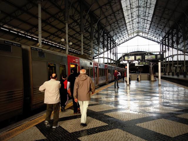 Estación de trenes Lisboa Rossio