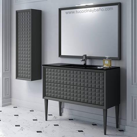 mueble de baño diseño capitone   tu cocina y baño - Muebles De Lavabo De Diseno