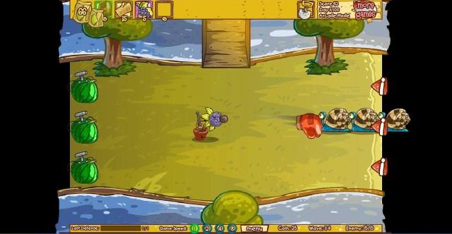 fruit defense express indonesian flash games