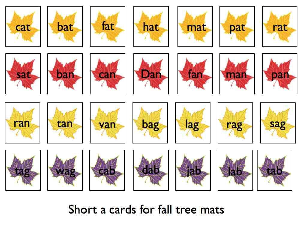 Worksheets An Words For Kindergarten mrs scoteses class a kindergarten blog fall fun with short words