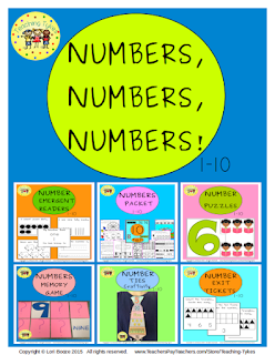 https://www.teacherspayteachers.com/Product/Numbers-Numbers-Numbers-1-10-2178373