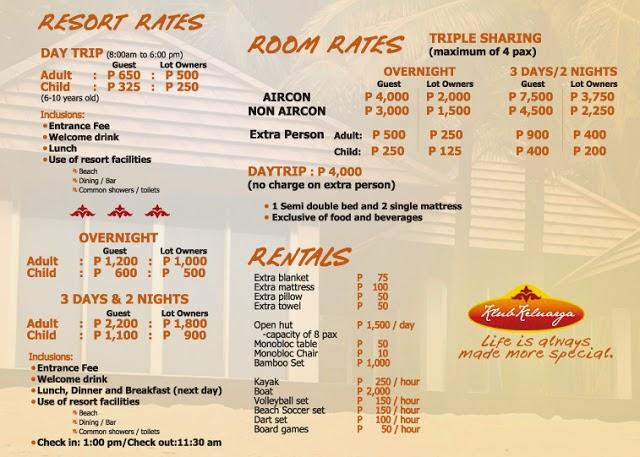 Fajardo Beach Resort Room Rates