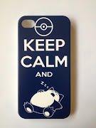 Flamlove (iPhone 4/4s). $10 Mailed. Keep Calm and Snorlax (iPhone 4/4s)