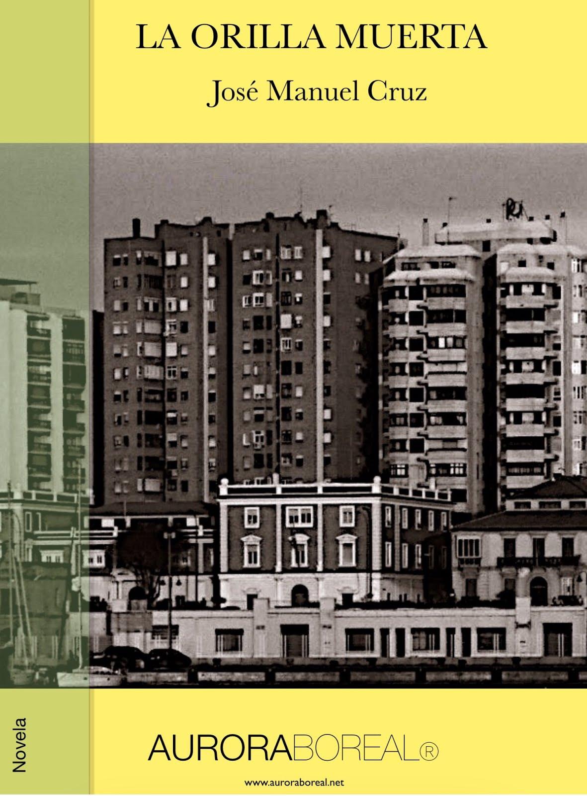 """Portada de mi novela """"La orilla muerta"""" (2020)"""