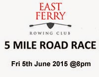 Scenic 5 mile race nr Midleton in E.Cork on Fri 5th June