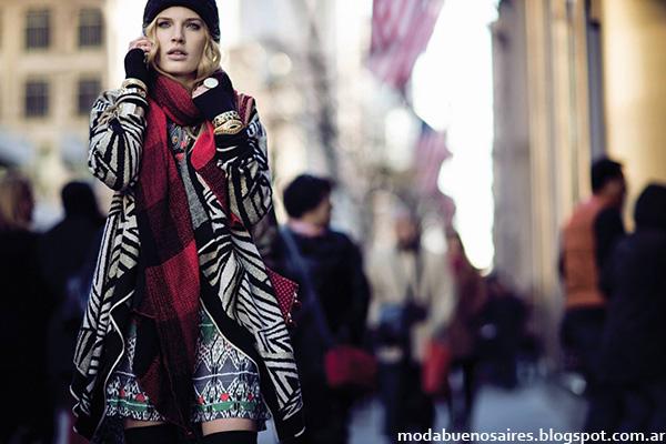 Sacos tejidos invierno 2014 India Style.