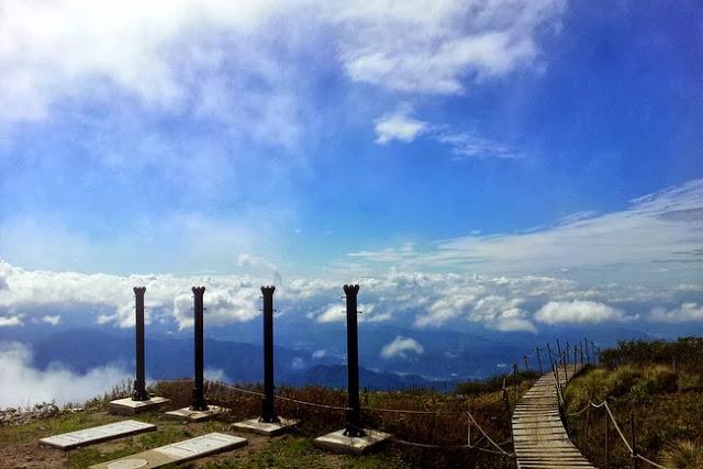 Mt. Daisen summit
