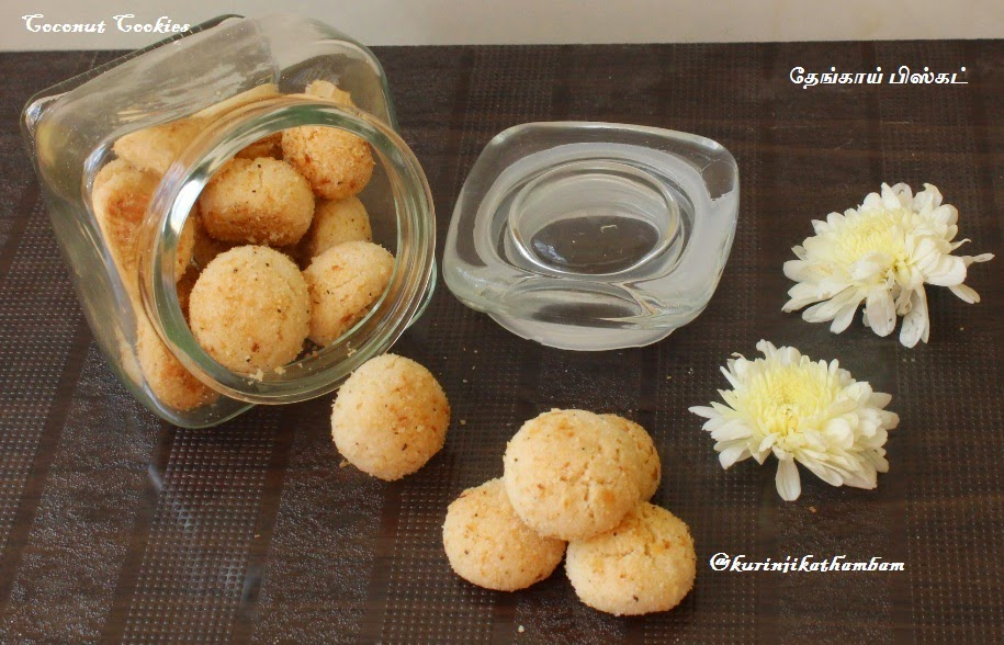 Melting Moments – Coconut Cookies