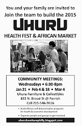 Join the Team to build the Uhuru Health Festival & African Market