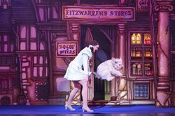 Ashleigh and Pudsey in Dick Whittington at Woking New Victoria Theatre