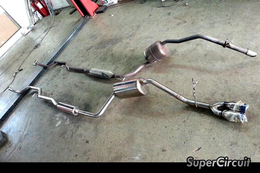 Perodua Mvyi 1.3 factory stock VS. SuperStreet stainless steel cat ...