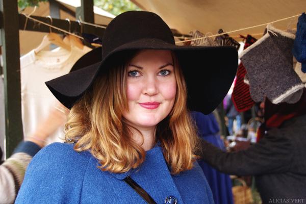aliciasivert, alicia sivertsson, skansen, skansens höstmarknad, market, autumn, slokhatt, slouch-hat