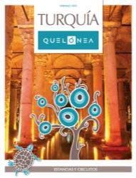 Catálogo de viajes de la mayorista Quelonea Turquía 2015