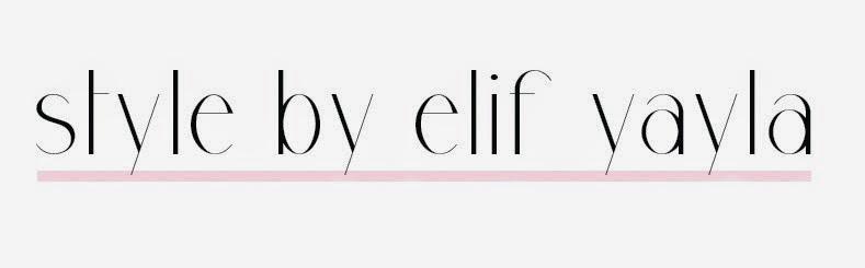 style by elif yayla