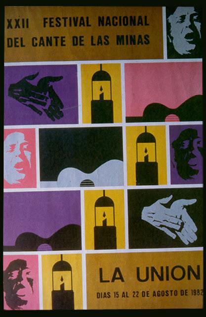Cartel del Cante de las Minas de 1982