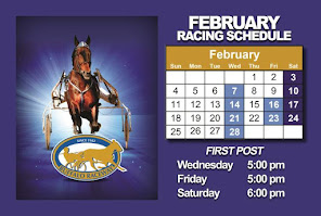 Racing resumes Wednesday at 5 p.m.