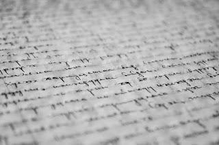 scrittura volgare su manoscritto