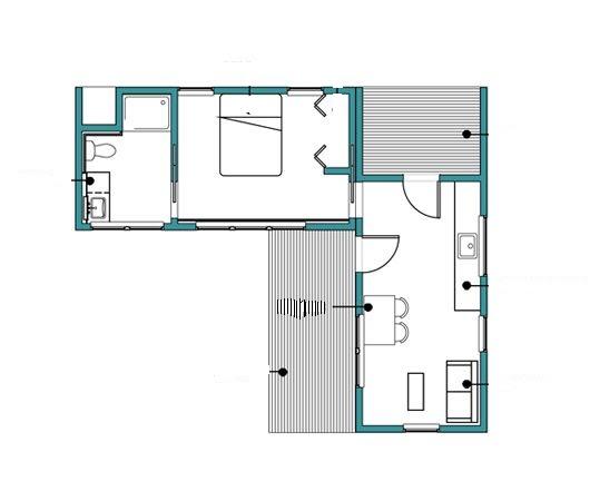 Planos de casas modelos y dise os de casas plano de casa - Fotos de casas en forma de l ...