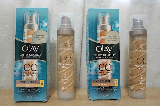 Olay White Radiance CC Cover & Correct Cream