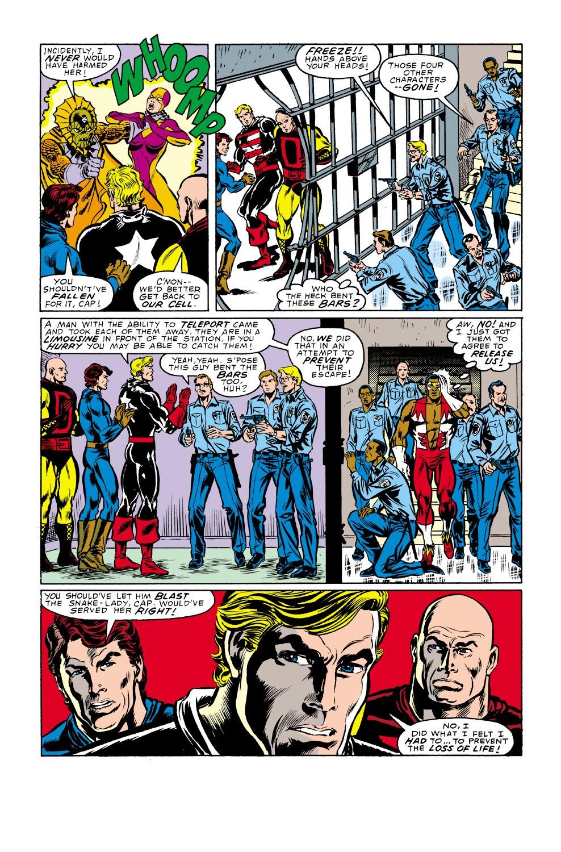 Captain America (1968) Issue #338 #267 - English 21
