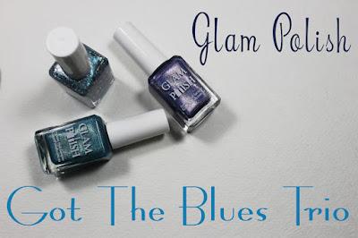 Glam Polish Got Blues Trio