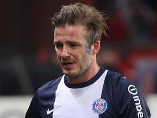 Beckham quitte le Parc en pleurs (VIDEO)