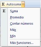 Funciones Excel 2007