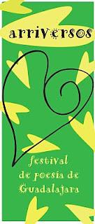 ARRIVERSOS, Festival de Poesía de Guadalajara, Guadalajara, España, Poesía, cartel