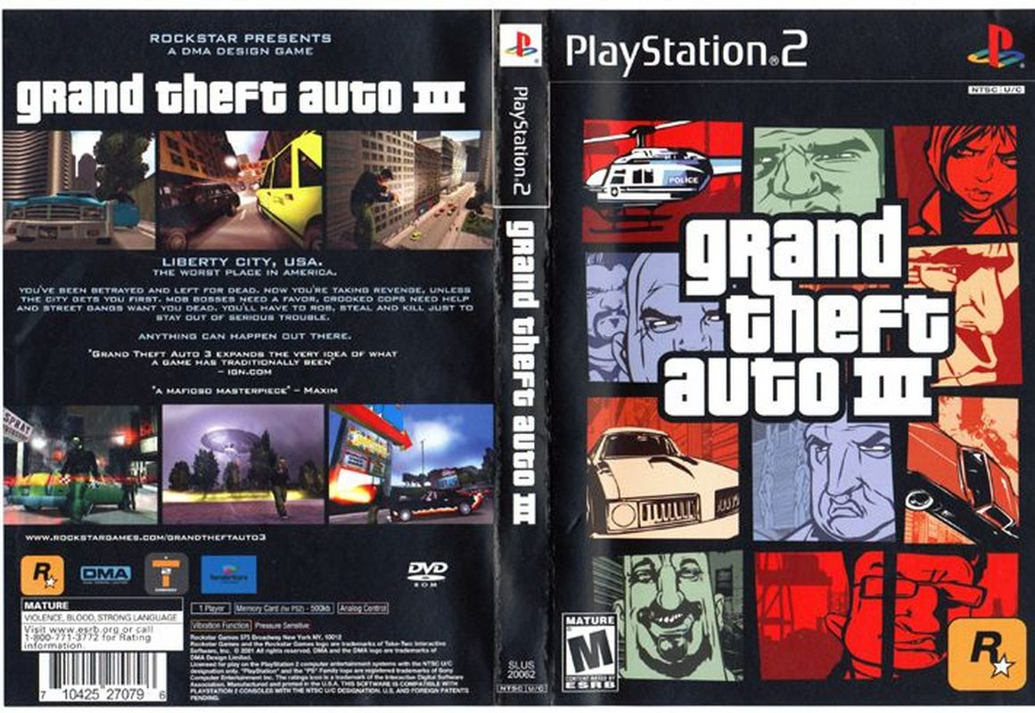 GTA+3 Grand.Theft.Auto.III | PSN [ PS3 ]