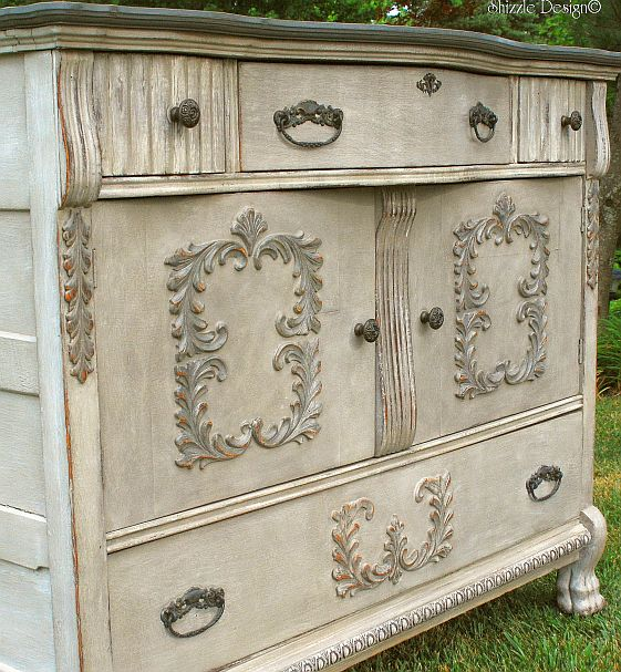 Shizzle Design  Vintage Buffet Layered in Rich Color ~ One of my