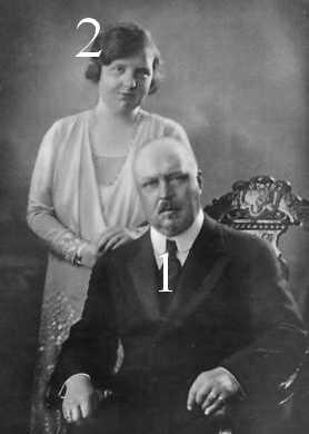 Hendrik et Juliana des Pays-Bas