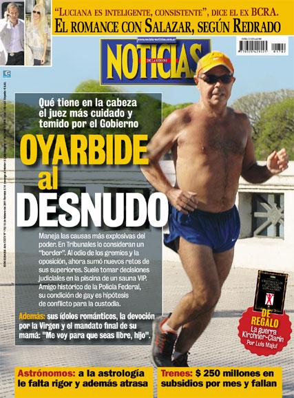 Tapa revista noticias luciana salazar redrado report Noticias del dia en el mundo del espectaculo
