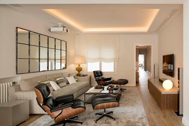 chaise longue de Eames
