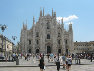Duomo de Milan. Catedrales de Italia