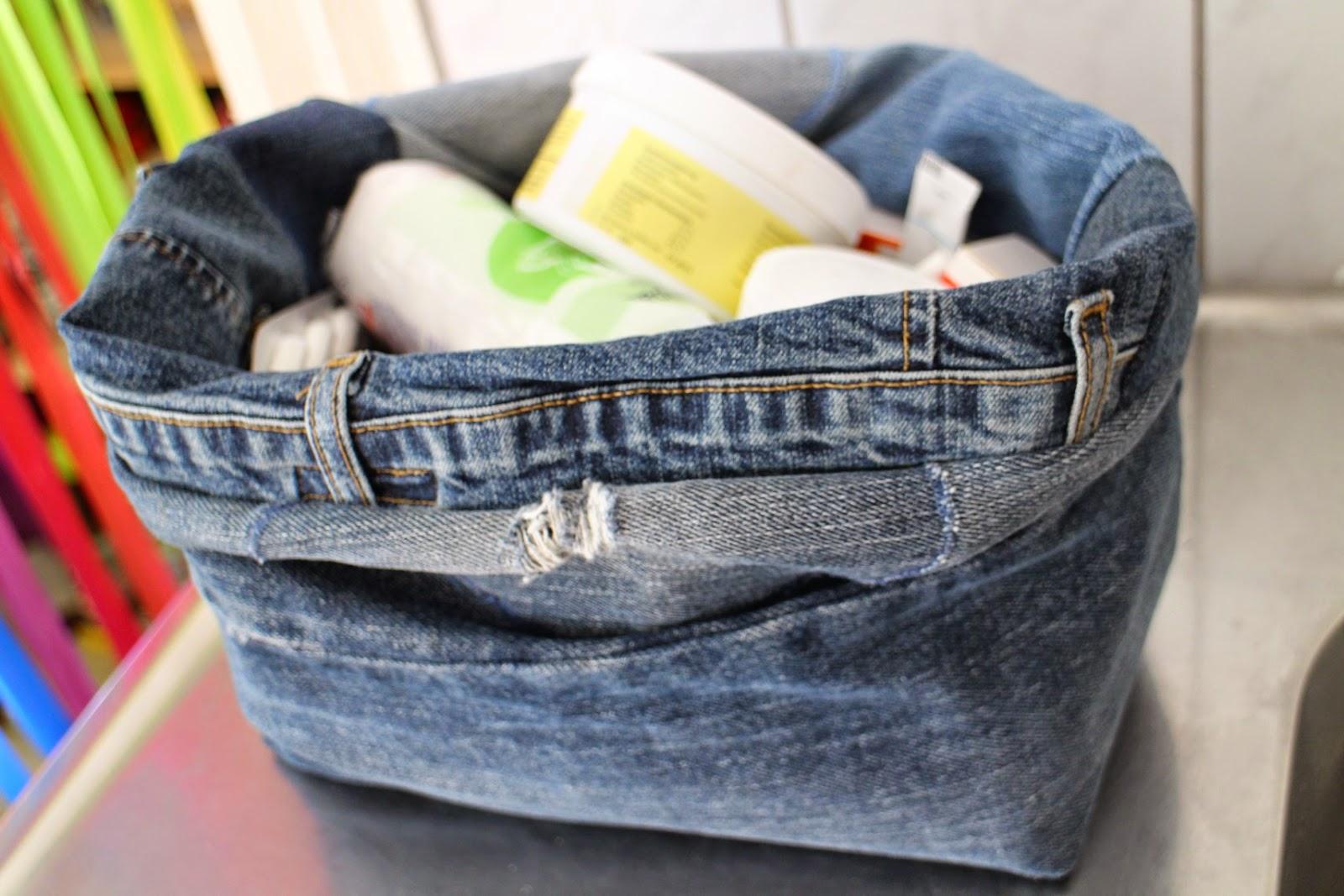 Utensilo aus alten Jeans