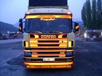 fosforlu kamyonlar tırlar