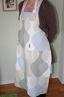 Alla kan sy ett eget förkläde!