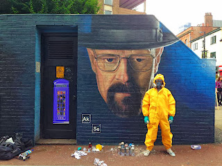 Graffiti Walter White