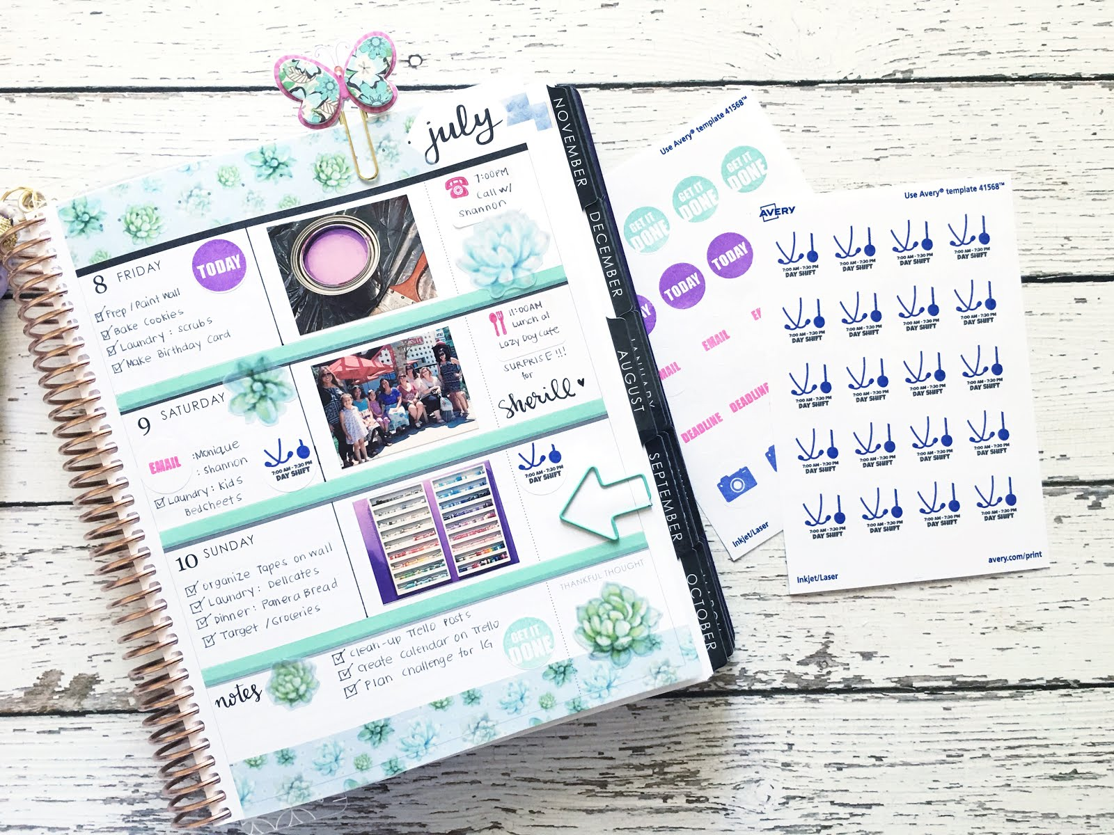 i hope this has motivated you to use avery products with your planner check back here again soon for more great ideas make sure to follow avery on