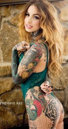 Pesona Gambar Tattoo Unik Aktris Hollywood