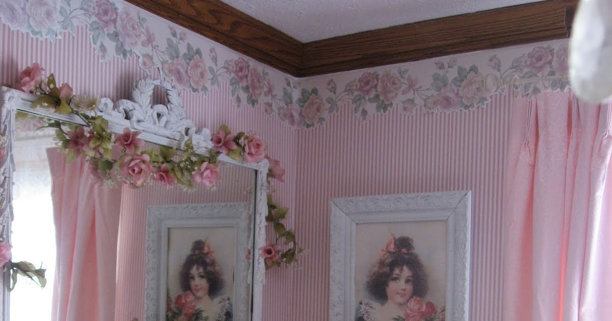 Shabby cats and roses dining room photos just because for H o rose dining room