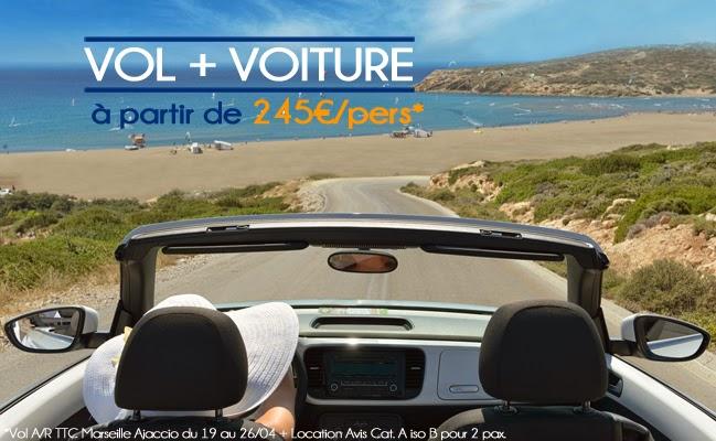 Promotions sur la Corse